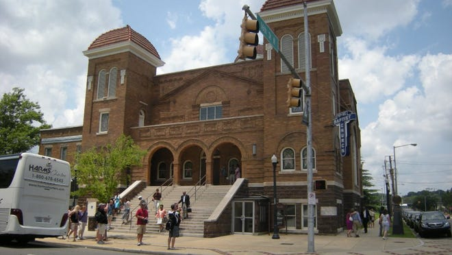 The 16th Street Baptist Church in Birmingham, Ala., was the site of a 1963 Ku Klux Klan bombing that killed four schoolgirls.