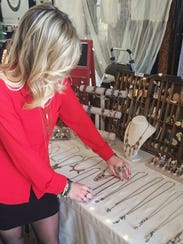 Look out for Ashley Dilger's jewelry at the Can't Buy