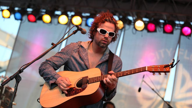 Rusted Root, fronted by Michael Glabicki, played the Lilac Festival in 2010.