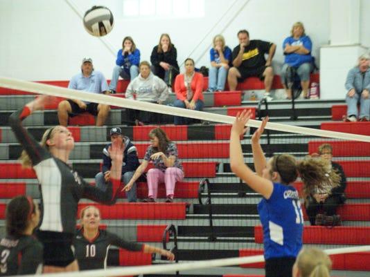 Crestline at BC volleyball