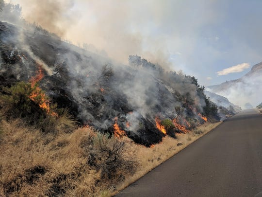 The Boxcar Fire is 85 percent contained as of Wednesday, June 27, 2018 after burning 100,200 acres.