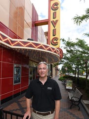 Scott Freeman, who's been managing Farmington's Civic Theatre since 2010, received a new contract for the Grand River Ave. movie theater.