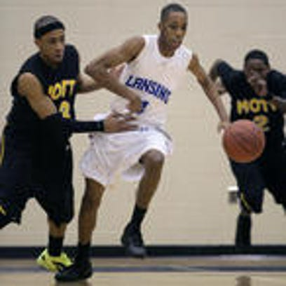 Montel Smith, playing in the state championship game