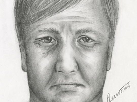 An age-progressed sketch of a man the TBI is looking for in a 1980 double-homicide investigation.