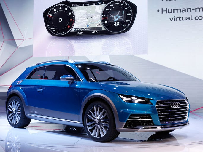 Concept Cars At North American International Auto Show