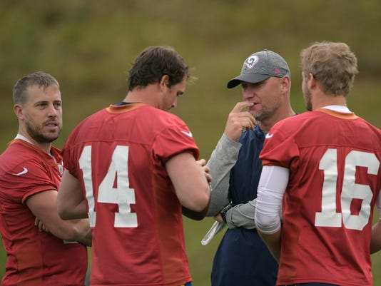 NFL: International Series-Los Angeles Rams Practice