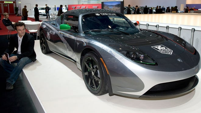 This 2010 Tesla Roadster is already a collectible in car enthusiast circles.