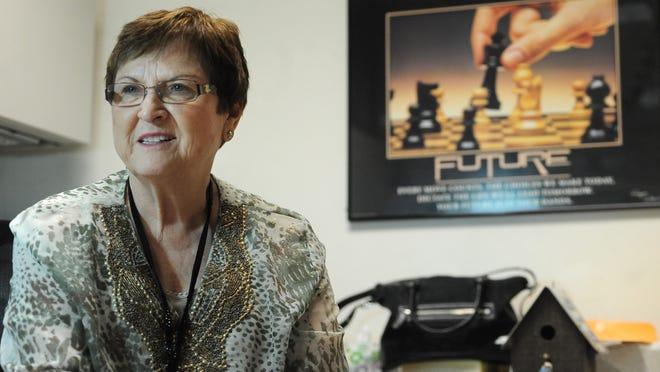 Minnehaha County Treasurer Pam Nelson.