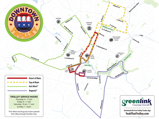 Expanded and re-drawn trolley routes are set to begin.