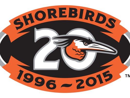 Delmarva Shorebirds logo