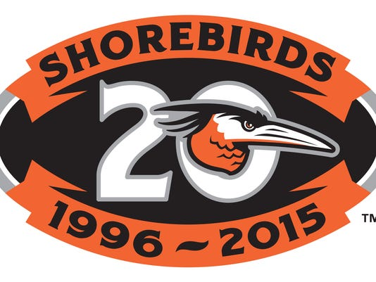 Delmarva Shorebirds logo