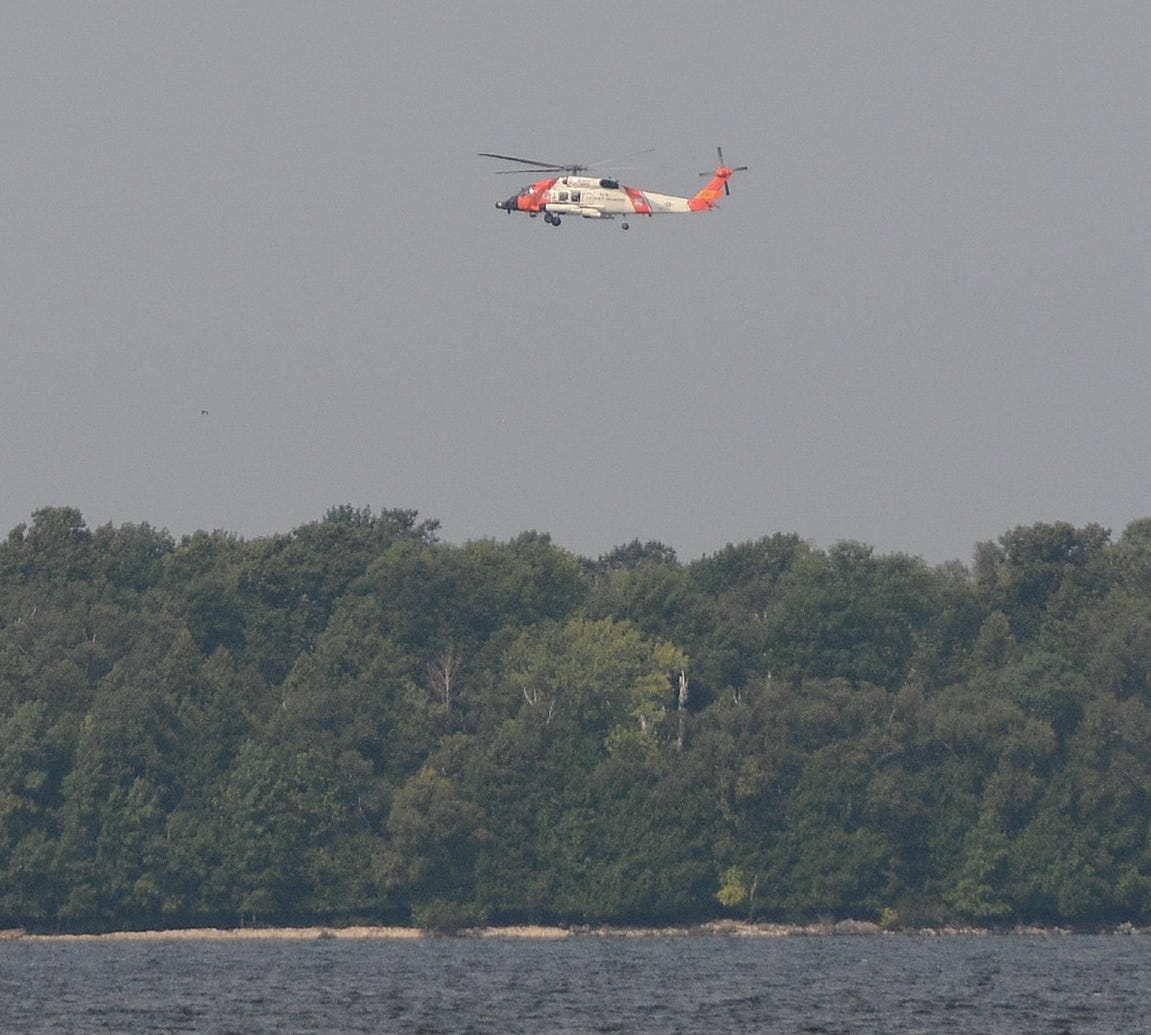 Search continues in Door County for missing kayaker & Search continues in Door Count for missing kayaker