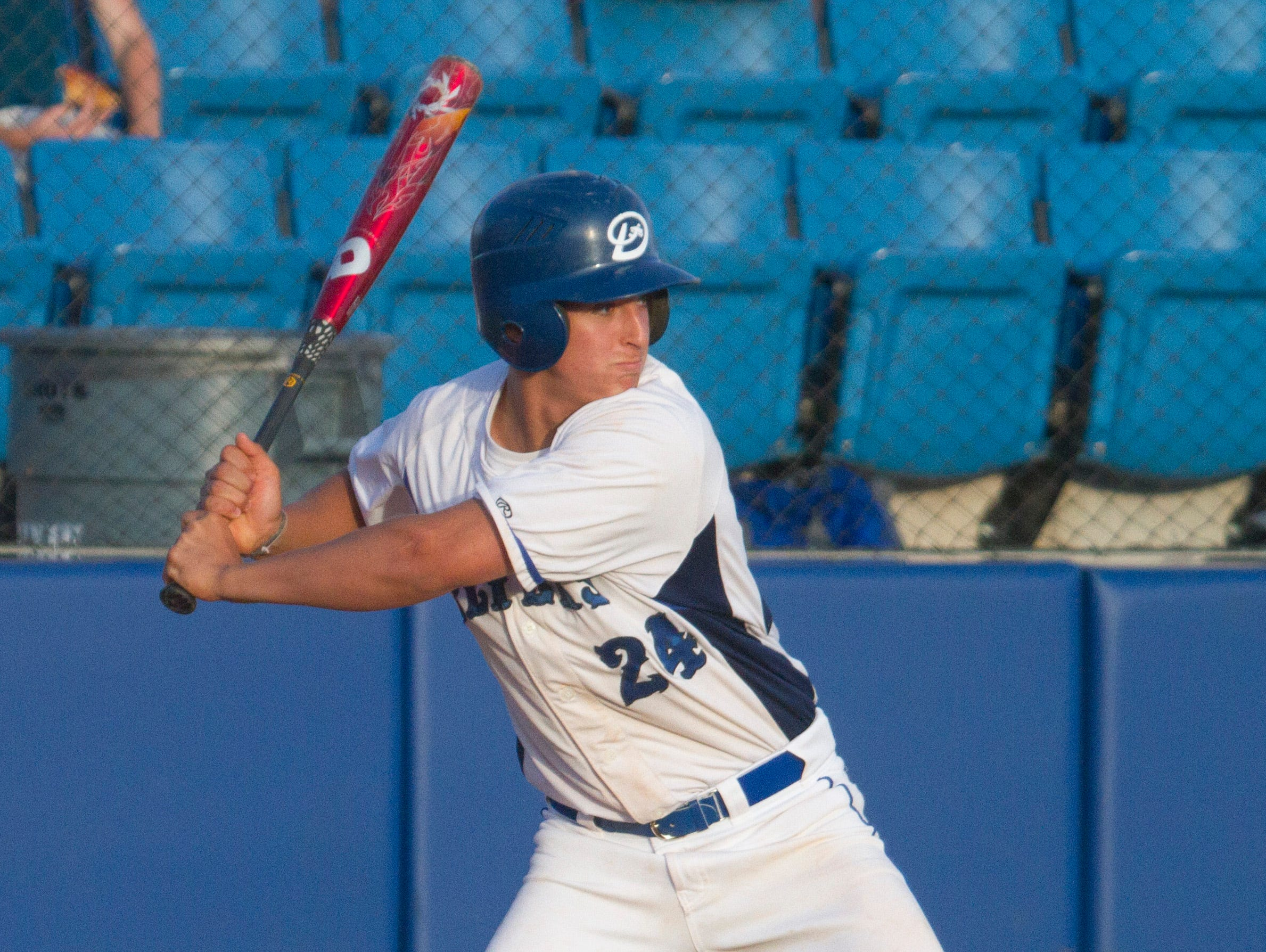 Dixie baseball holds off Hurricane for a 5-2 victory Tuesday, April 19, 2016.