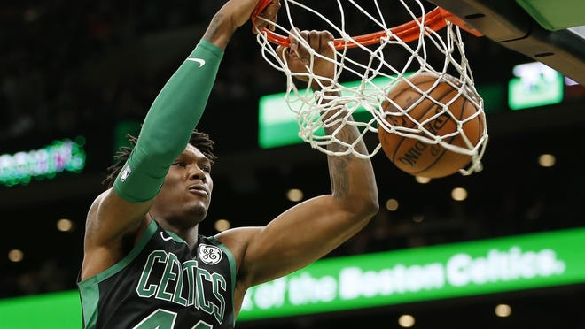 Boston's Robert Williams III proclaimed himself healthy and ready to go if the NBA season resumes.