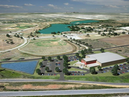 A rendering of the Abilene Youth Sports Authority's
