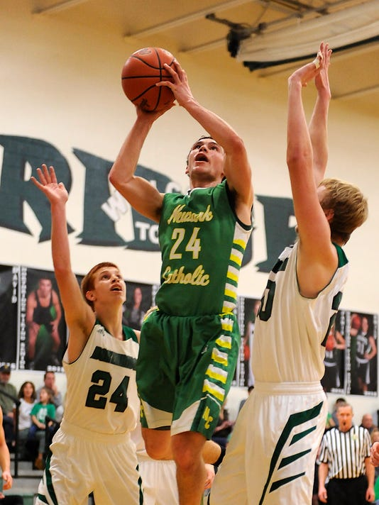 Newark Catholic 55, Northridge 50