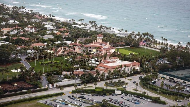 Mar-a-Lago on Palm Beach.