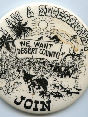 Desert County Badge.