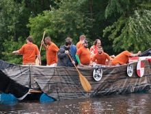 Soak in the river (and beer) for charity at Saturday's raft race