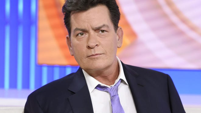 """Actor Charlie Sheen appears during an interview, Tuesday, Nov. 17, 2015 on NBC's """"Today"""" in New York."""