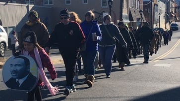 Dozens march in Waynesboro