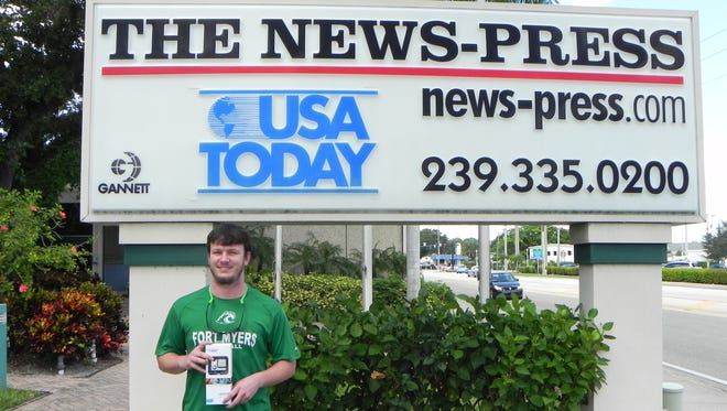 Logan Hulslander, of Fort Myers, won a GoPro camera through a summer promotion offered by The News-Press for the subscriber only Insider program. Go to news-press.com/insider to learn more.