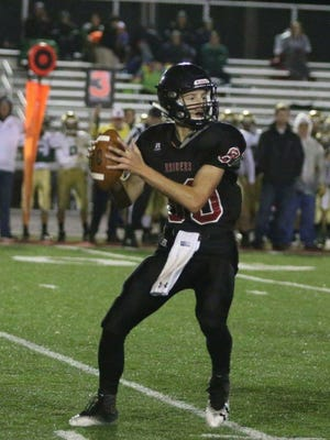Colson Montgomery will be Southridge's starting quarterback this fall. Unofficially, he passed for 29 touchdowns against no interceptions last year on the freshman team.
