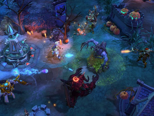 """""""Heroes of the Storm"""" features a collection of Blizzard"""