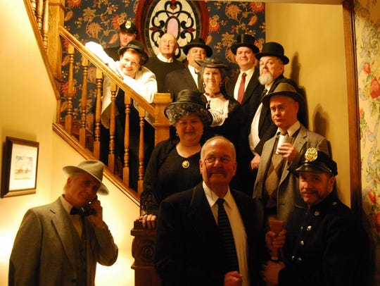"""The cast of CCT's """"Arsenic & Old Lace"""""""