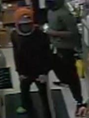 Hendersonville Police are seeking two suspects in a