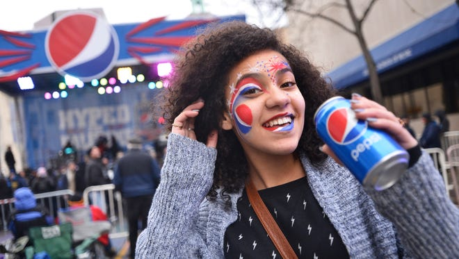 "Football fans in Rochester, N.Y., experienced the magic of a Pepsi Super Bowl Halftime Show on Jan. 18, 2014, as a reward for winning Pepsi's ""Hype Your Hometown"" contest."