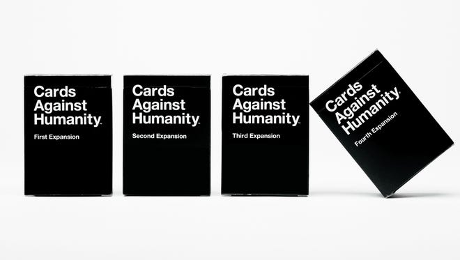 Cards Against Humanity, a hysterical – and R-rated – party game is available for $25 at cardsagainsthumanity.com.