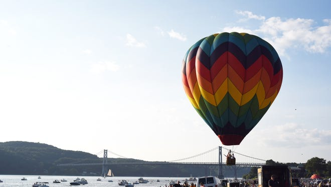 The City of Poughkeepsie's southern waterfront has been the scene of much activity, including a balloon festival, but so much more can be gained if this section were tied to destinations to the north, including the Walkway Over the Hudson.