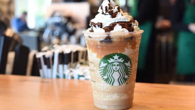 You won't have to go inside for frappucinos at the new East Boulevard Starbucks, which has a drive-through.