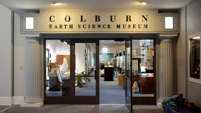 Students and visitors explore The Colburn Earth Science Museum on Wednesday, September 30, 2015. The museum is currently located at 2 Patton Avenue, but will change location come next spring.
