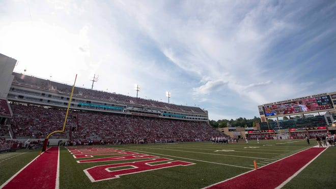 Mississippi State travels to Razorback Stadium in Fayetteville, Arkansas for the first time since 2003.