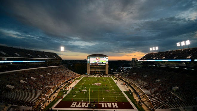 Mississippi State's Scott Field at Davis Wade Stadium was recognized nationally for its playing surface.