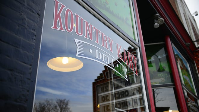 Kountry Kart deli owner Michael Williams said he feels the city is unfairly singling his business out for unpaid taxes.