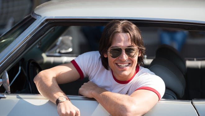 """Ryan Guzman plays Roper in """"Everybody Wants Some!!"""" The comedy is set in the '80s, just in case you couldn't tell from Guzman's hair."""
