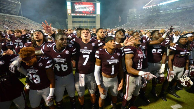 Mississippi State's players carry the expectations of past teams.