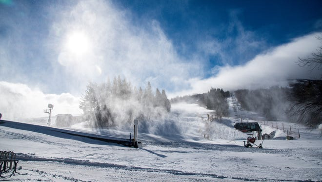 Temperatures are perfect for non-stop snowmaking at many resorts