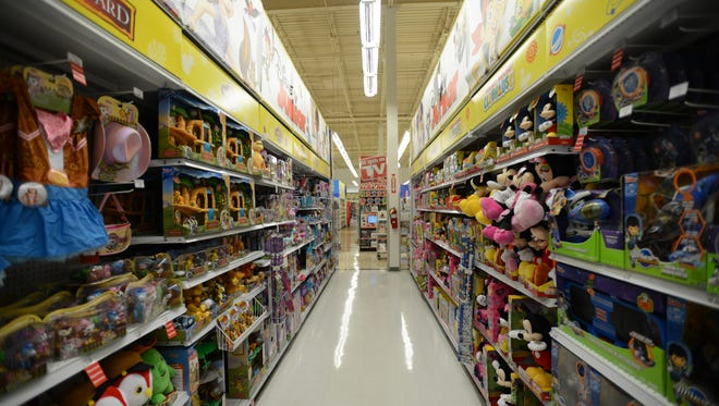 """File photo of Totowa Toys """"R'' Us store."""
