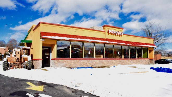 Popeyes Louisiana Kitchen is expected to open on Feb. 17 in the Town of Poughkeepsie.
