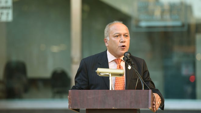 Paterson Mayor Joey Torres is under indictment on theft, conspiracy, official misconduct and other charges.
