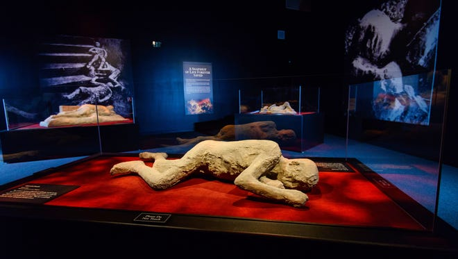 """Pompeii: The Exhibition"" comes to Arizona Science Center Nov. 18-May 28."