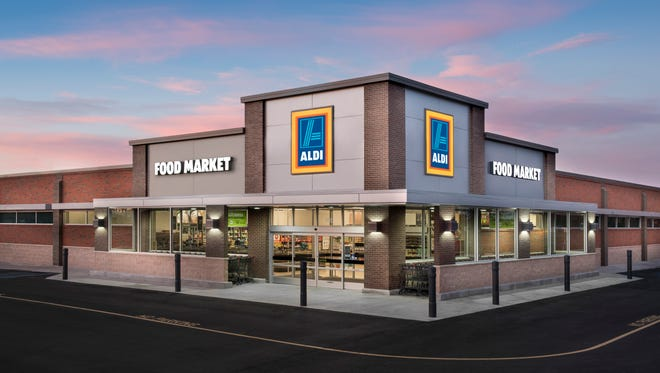 Grocery store chain Aldi is in growth mode, as usual. This time, the East Asheville store is going through renovations to expand its footprint.