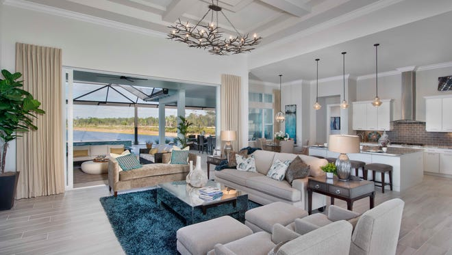 The Marigold by Stock at The Isles of Collier Preserve in Naples.