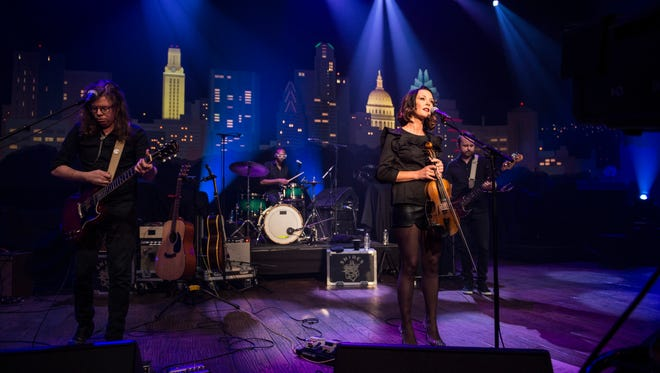 "Amanda Shires performs on ""Austin City Limits."""