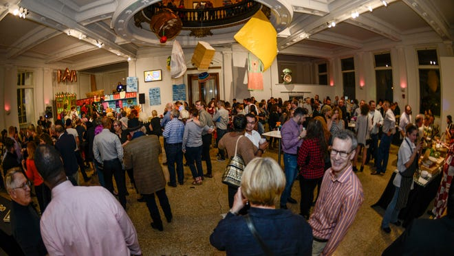 Guests at The Art of Food, 2017, at The Carnegie in Covington