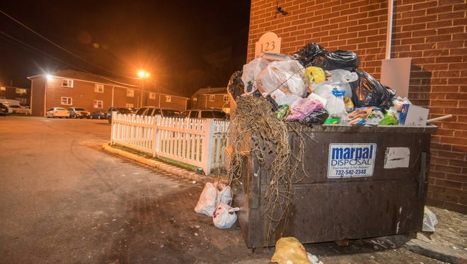 Tenants at the Cottage Manor Apartments in Lakewood say trash is allowed to overflow, drawing rats to the area.